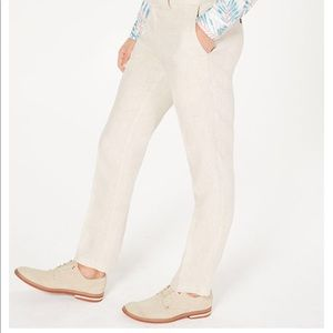 Banana Republic Slim Fit Performance Linen pants